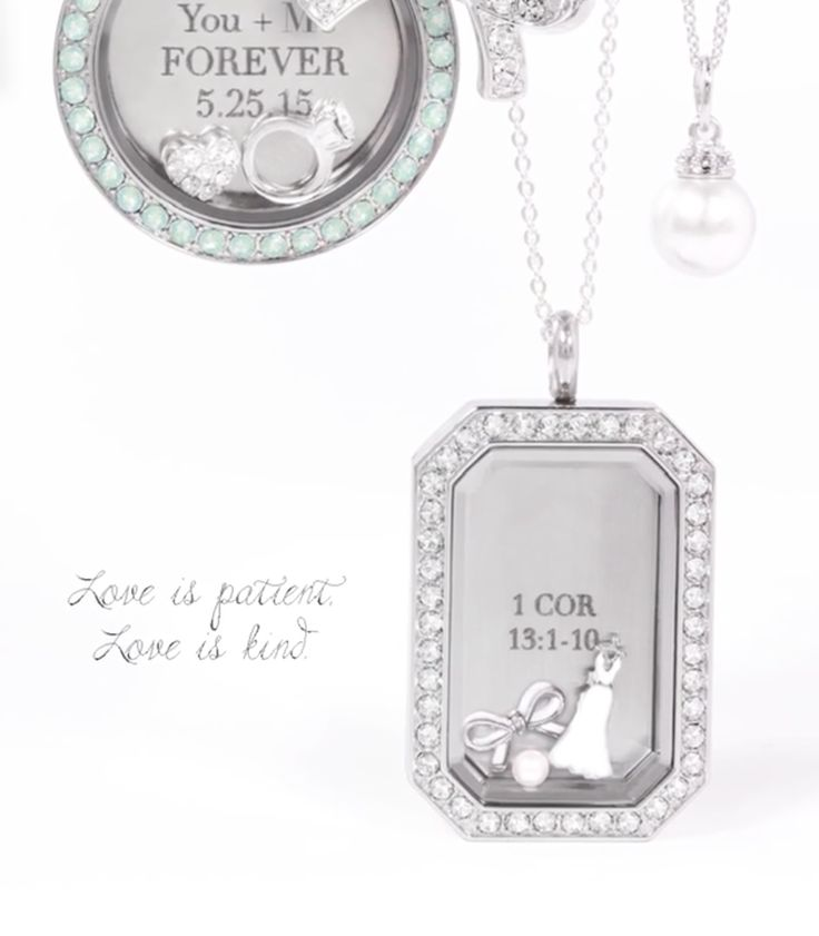Origami Owl Bridal Collection! www.charmingsusie.origamiowl.com