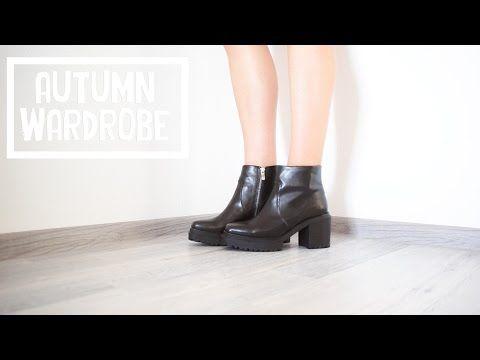 Осенний гардероб | Обувь 2015 - YouTube