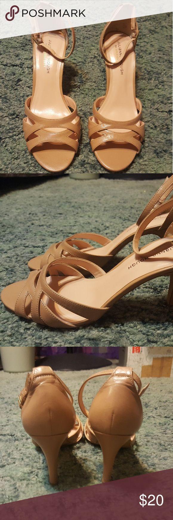 Nude Julianna Hough Heels Size 10 julianna hough Shoes Heels