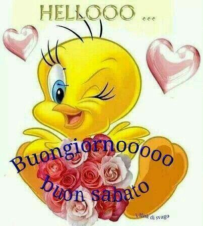 Buongiornooooo e buon sabato