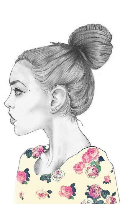BUN<3: Chloe Rose, Illustrations Art, 3D Character, Girls Illustrations, Girls Sketch, Art Drawings, Pencil Drawings, Fashion Drawings, Fashion Illustrations