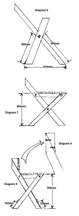Woodworking Plans for Folding Stools When someone want to learn woodworking techniques, look at http://www.woodesigner.net