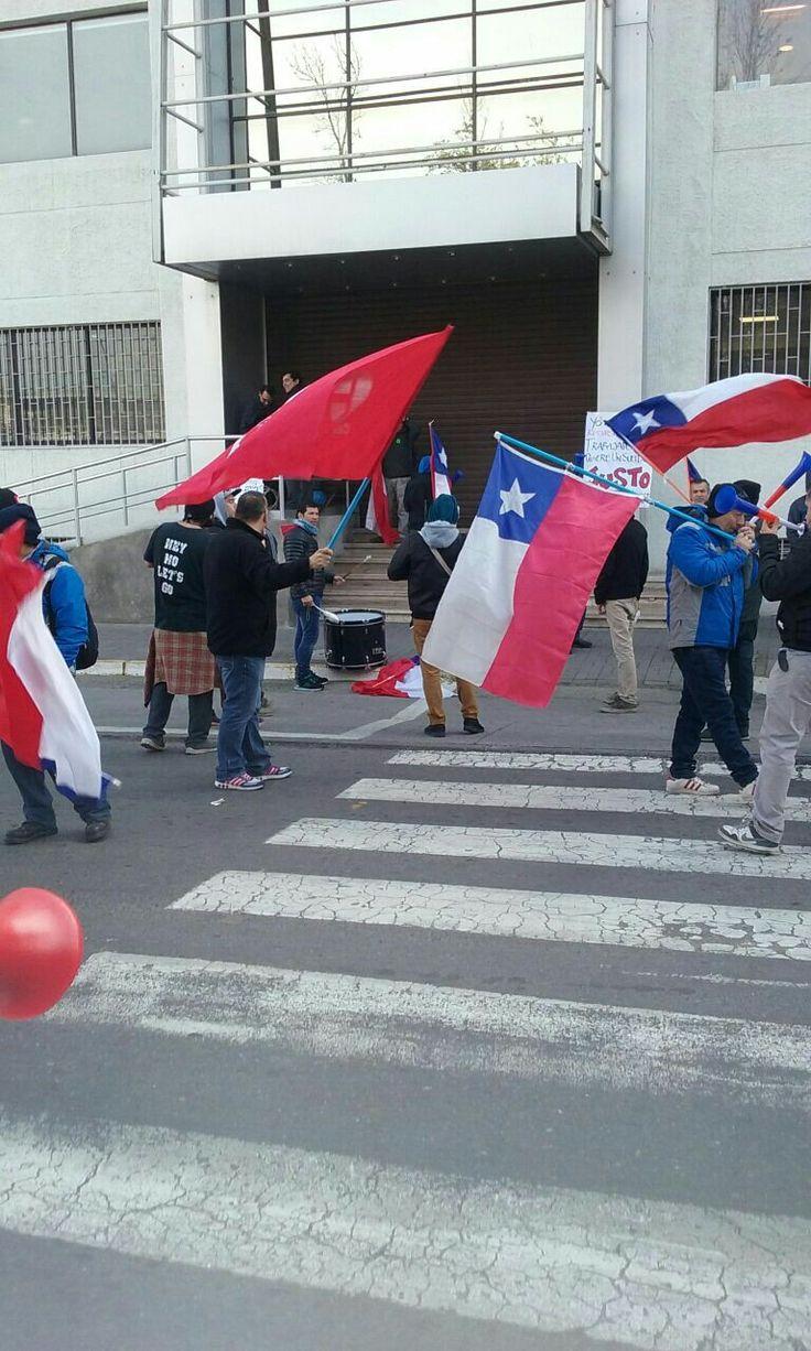 Huelga Unilever Chile