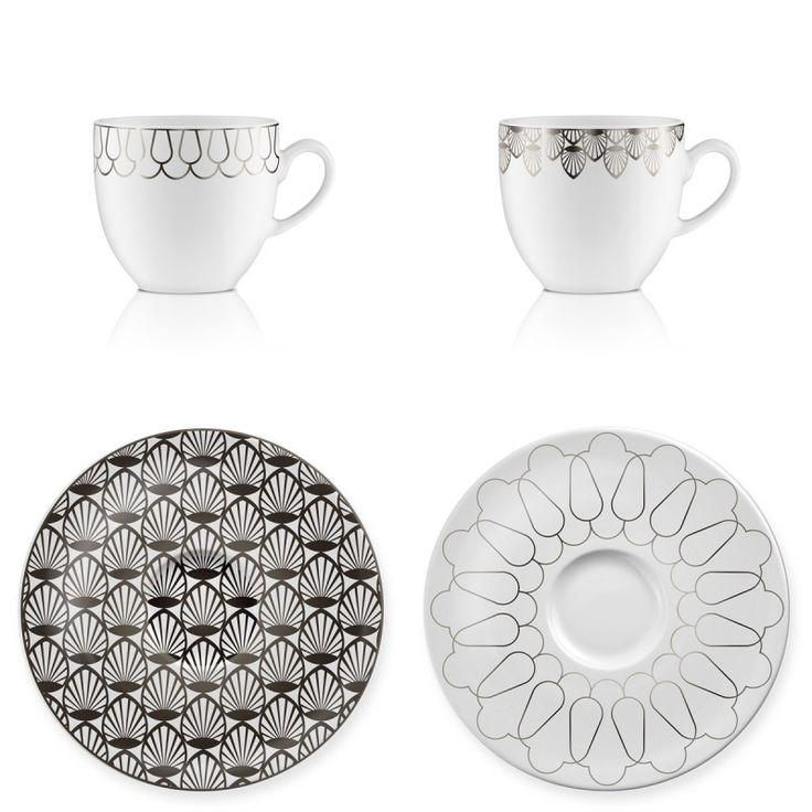 ZESTAW DO KAWY 4 CZ. Polska marka Vola to nowoczesny wygląd, proste formy oraz monochromatyczne zdobienia. Produkty zachwycają unikalnym wzornictwem oraz różnorodnością dekoracji – od subtelnych po wyraziste.