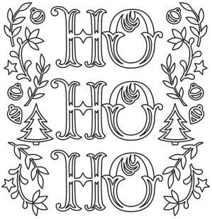 christmas  urban threads unique and awesome embroidery designs  christmas coloring pages
