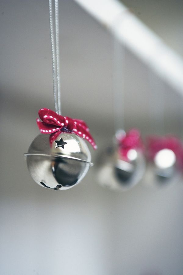 Found oil-rubbed bronze jingle bells at Target this year! Now.. what ribbon to use?