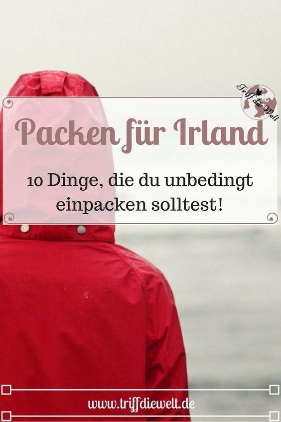 Packen für Irland: Diese 10 Dinge solltest du unbedingt im Gepäck haben!