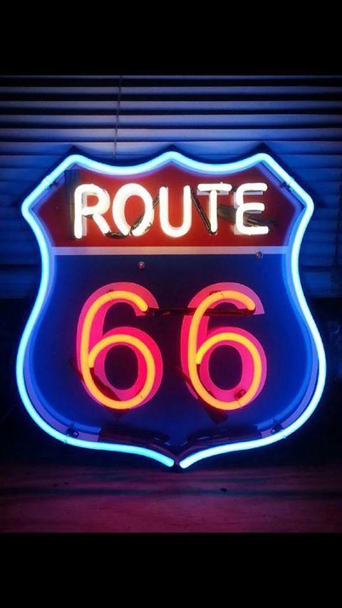 Driven along Route 66