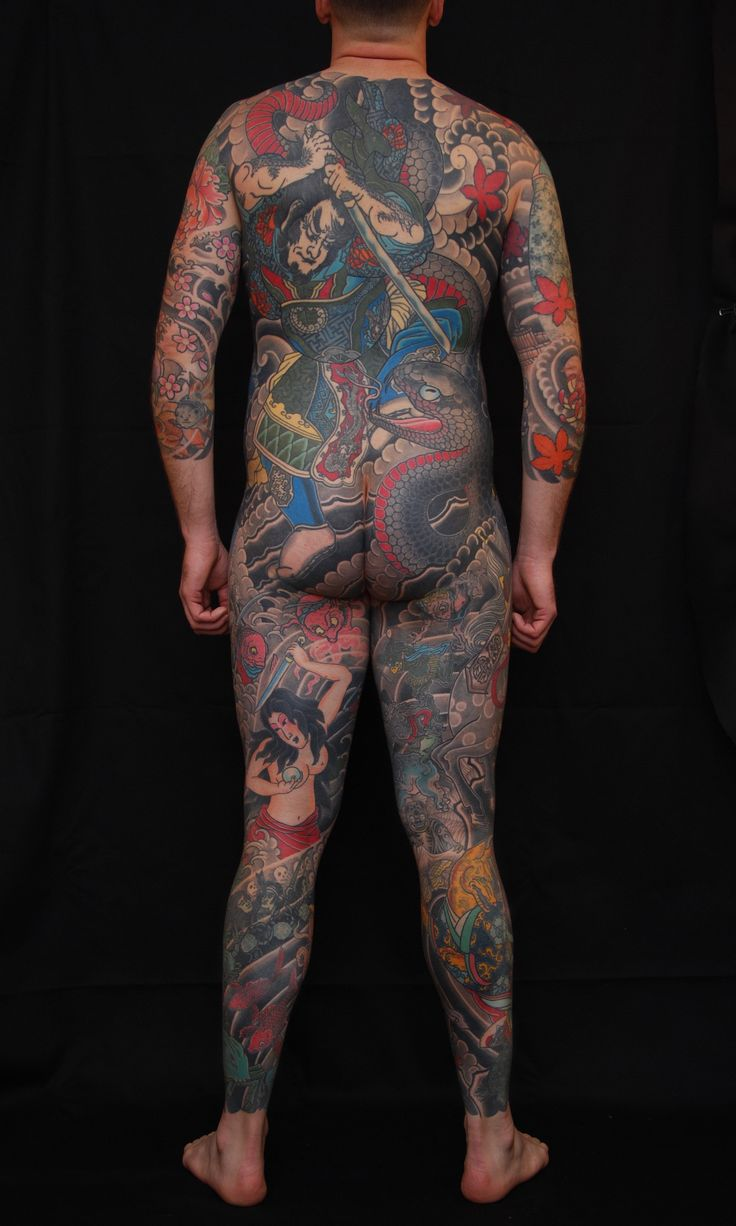Finally finished my Japanese inspired Body Suit by Daniel Innes. Pearl Harbor Gift Shop Toronto On.
