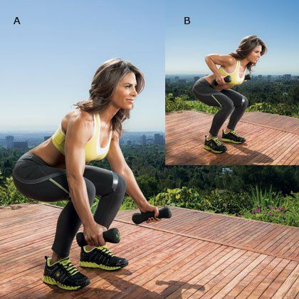 Jillian Michaels Workout: 30-Minute Total-Body Workout   Shape Magazine