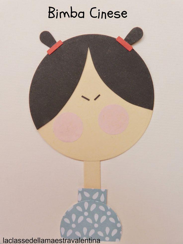 La classe della maestra Valentina: cartoncini