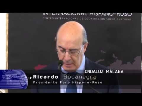 Principe Jorge Rurikovich asiste al Foro Internacional Hispano Ruso La Casa Real Rurikovich representada por Su Alteza Principe Jorge Rurikovich, asiste invitado a la presentación del Foro Internacional Hispano-Ruso celebrado en el salón de los espejos del Ayuntamiento de Málaga.