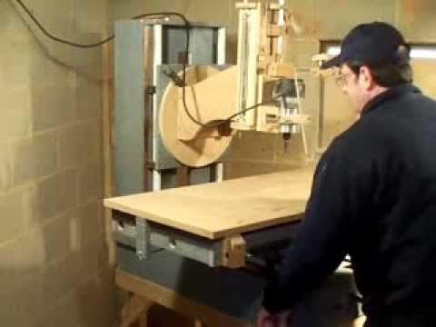 Router based wood milling machine introduction
