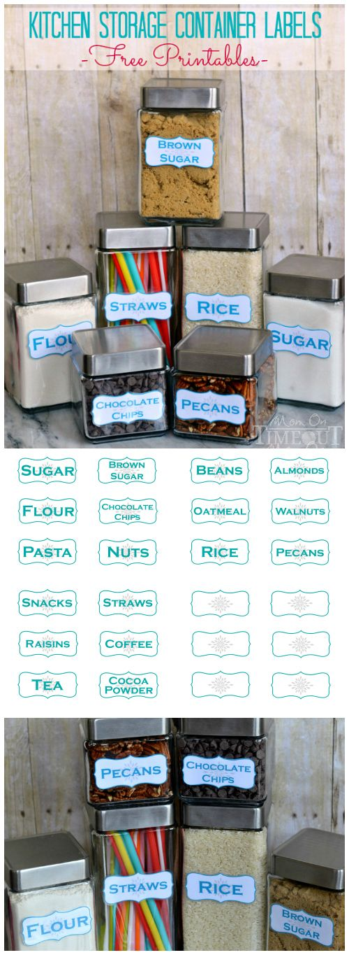 kitchen containers for sale get organized in the kitchen with these kitchen storage container labels free printables