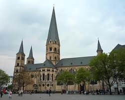 Bonner Munster, Bonn, Germany - I used to do street preaches in this square