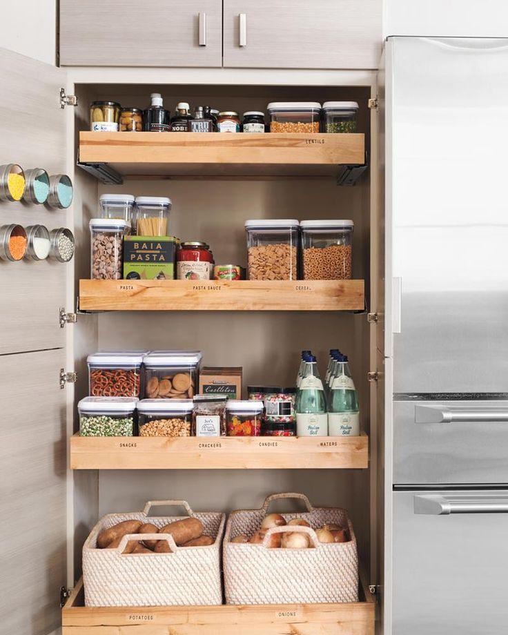 Pantry Shelves Starter Kit: 15 Amazing Chef's Pantry Design Ideas