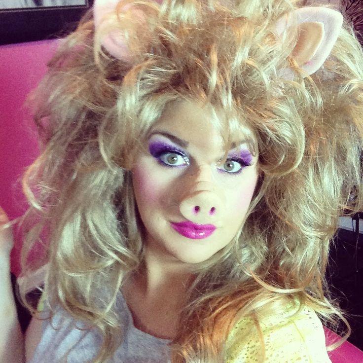 Miss piggy makeup tutorial jennbmakeupmagic.com
