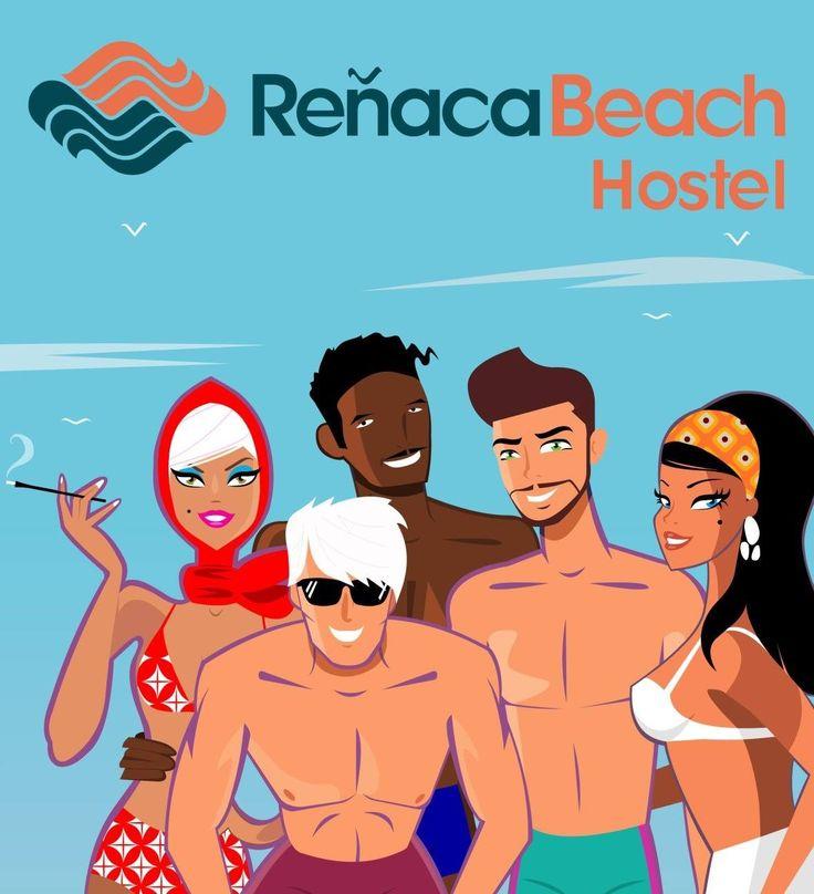 Reñaca Beach Hostel en Viña del Mar, Valparaíso