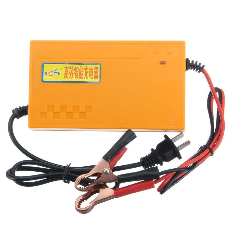 12V 8A Portable Smart Pulse Batería Banco de energía del cargador para Coche Motocicletas barco