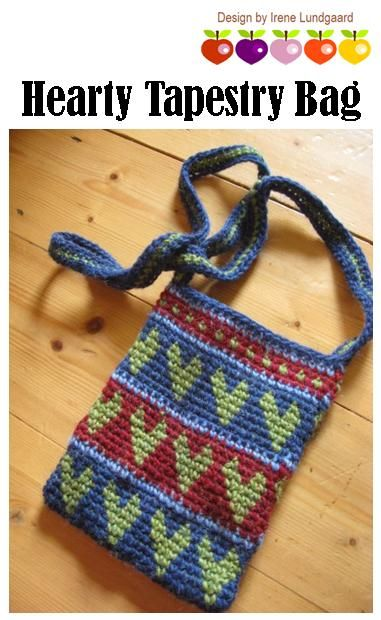 Tapestry Crochet Drawstring Bag Pattern : 17 Best images about Crochet Tapestry on Pinterest Free ...