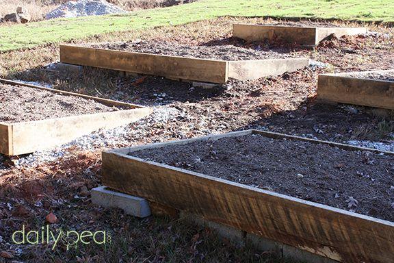 how to prepare an organic garden bed