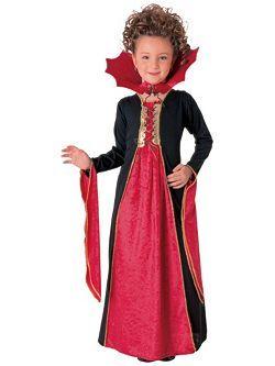 Kids Gothic Vampiress | Cheap Gothic/Vampire Halloween Costume for Girls