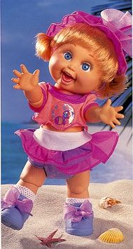 First Generation Baby Face Dolls; #10 So Playful Penny