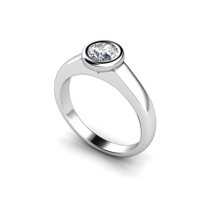 Isis diamond engagement #ring by Bespoke DiamondsEngagement Ring