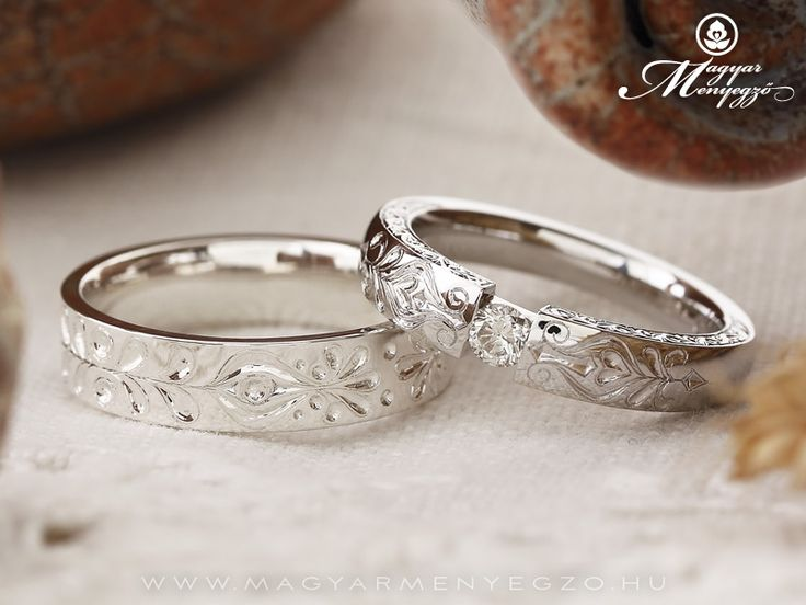 Magyar Menyegző - Hungarian pattern wedding ring