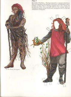 Миф.Ру. Бумажные куклы: винтажные, исторические, из фильмов, народный костюм, животные, Tom Tierney