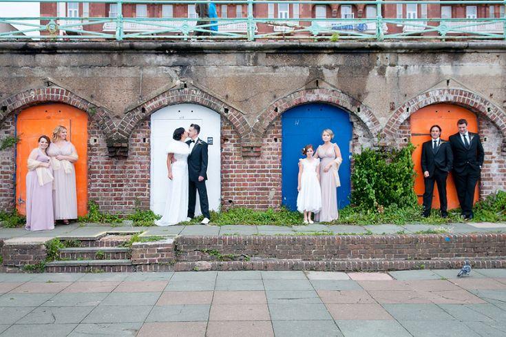 A Brighton backdrop, a Hilton Brighton Metropole wedding