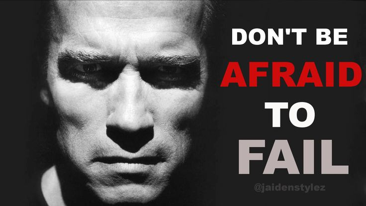 Don't Be Afraid To Fail -  Best Motivational Video ᴴᴰ ft  Arnold Schwarz...