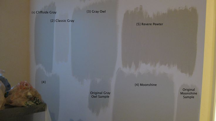 actual paint samples on the walls some bad home depot. Black Bedroom Furniture Sets. Home Design Ideas
