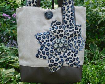 Bolso de tela gris, bolso de totalizador de la marina de guerra, bolso de cuero gris, carteras para mujer, azul bolso leopardo monedero, bolsa de trabajo de las mujeres, bolso del ordenador portátil