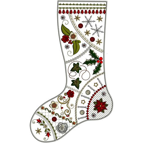 Look out for a crazy quilt stocking at Graceful Embroidery this Christmas Virginia s Christmas ...
