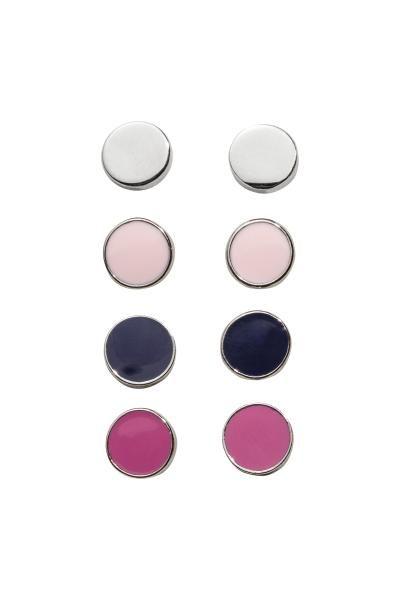 4 pairs earrings   H&M