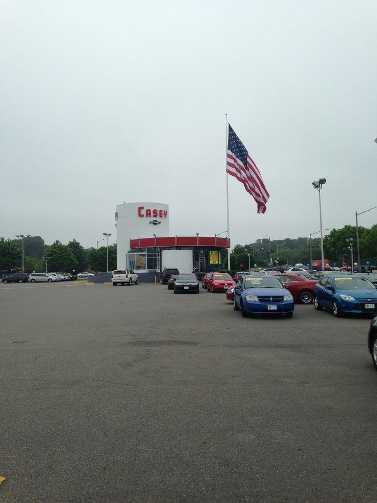 Vintage Chevrolet dealership building in Newport News, VA.  Casey Chevrolet
