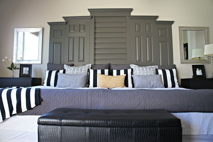 Two queen beds together love her ideas and steps.