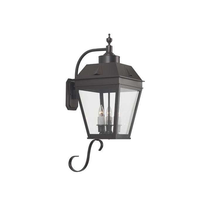 Lantern 11 Wide Curved Arm Exterior Wall Light Exterior Wall Light Brass Wall Light Wall Lights