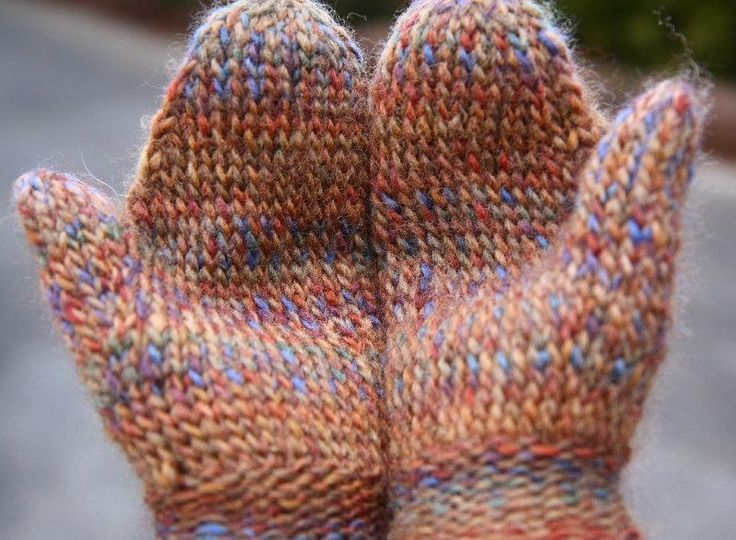 Basic Twined Mittens