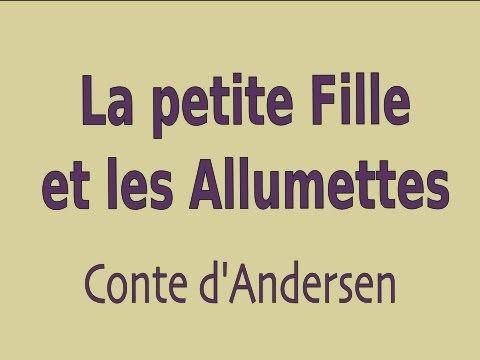 ▶ Livre audio : La petite Fille et les Allumettes, conte d'Andersen - YouTube