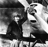 Amy Johnson, first woman  to fly alone from Britain to Australia (aged 26). Also the first licensed female ground engineer.  She was one of 154 ATA pilots (women and men) who were killed doing their dangerous work.   The women were not allowed to fight, but they ferried the Spitfires from the factories or repair yards to the front line. Many of them died when the aircraft developed engine trouble.