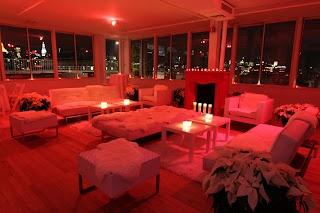 Warm winter lounge