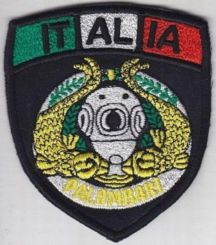 SCUBA Hard Hat Italy Navy Diver Marina Italiana Palombari Scudetto