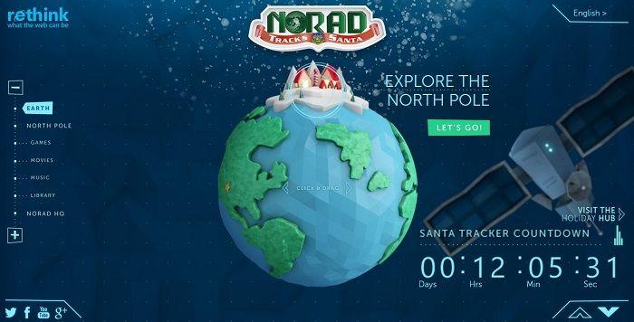 NORAD Santa Tracker Site Goes Live Tonight