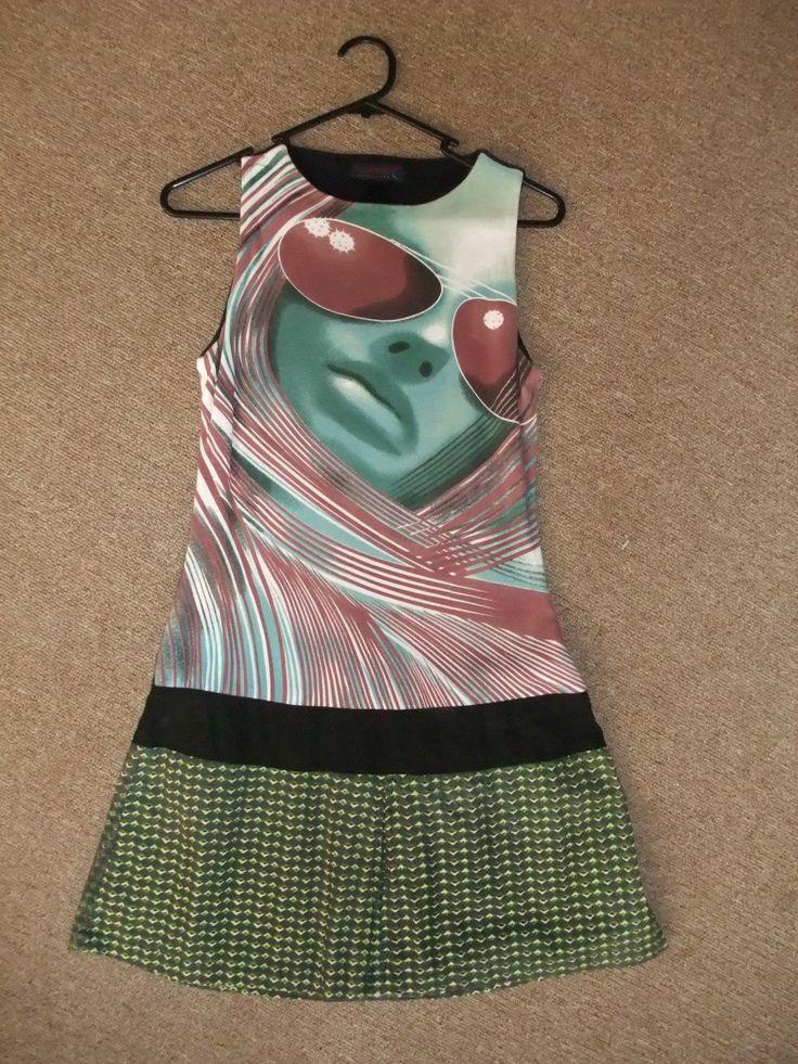 Custo+Barselona+Little+Dress+desigual+size+S+face
