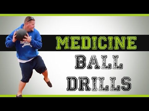 Medicine Ball Drills for Baseball - YouTube