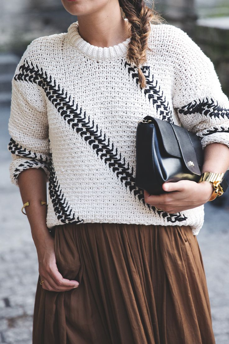 Maxi_Skirt-Outfit-Cap-Knitwear-PFW-Street_Style-8                                                                                                                                                                                 More
