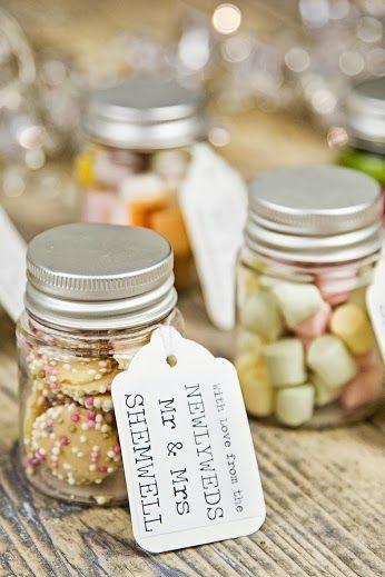 wedding bridal shower favors glass mason jar set of 12