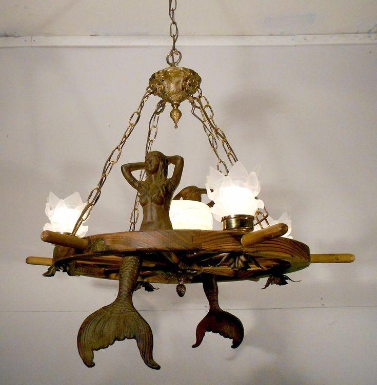 Handcrafted 14 Mason Jar Pendant Light Chandelier W Rustic: 25+ Best Ideas About Wheel Chandelier On Pinterest